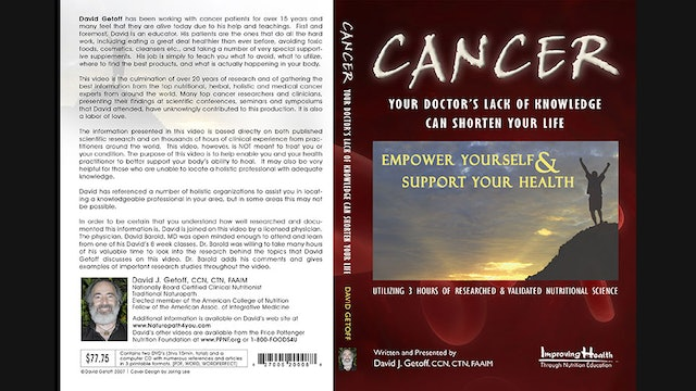 Cancer:  Your Doctor's Lack of Knowledge Can Shorten Your Life