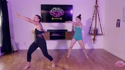 Naughty Girl Fitness Video