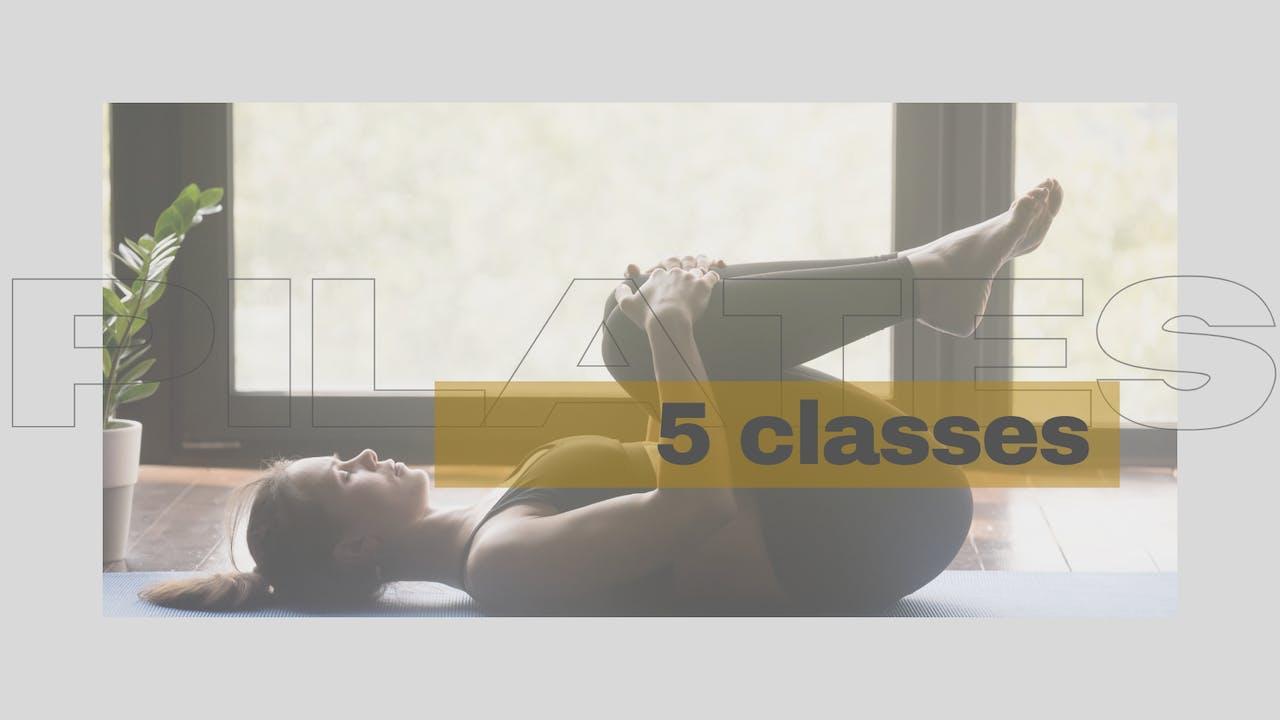 5 Class Matwork Course