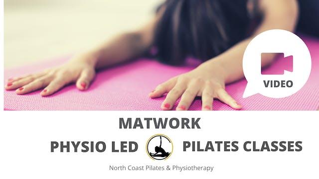 Physio Led Pilates Class Week 1