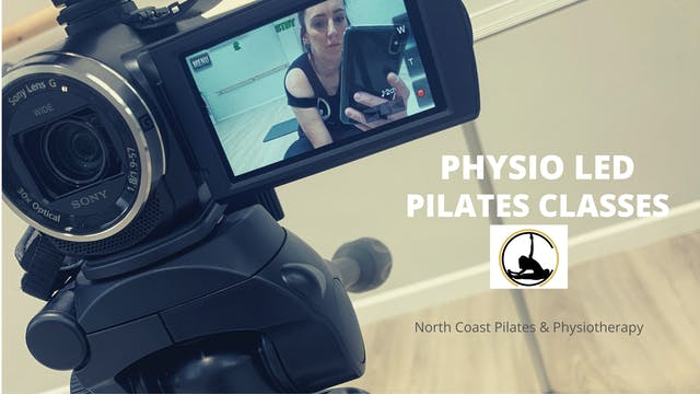 Physio Led Pilates Class Week 4