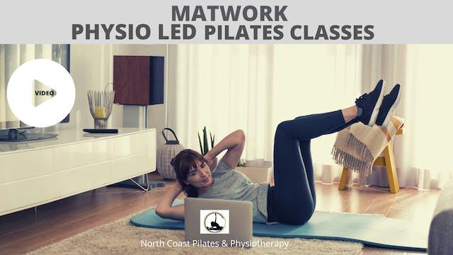 Physio Led Pilates Class Week 5