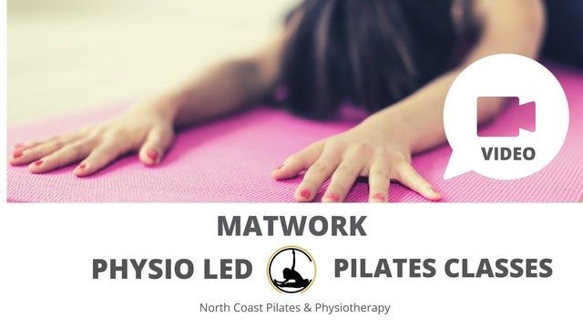 ✅Physio Led Pilates Class Week 1 (No small equipment)
