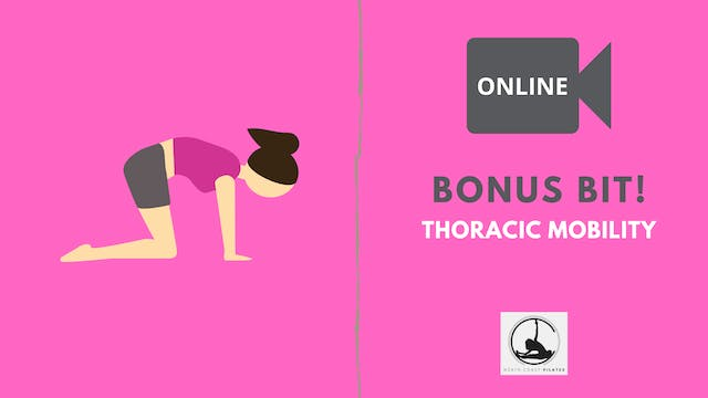 Thoracic Mobility Sequence