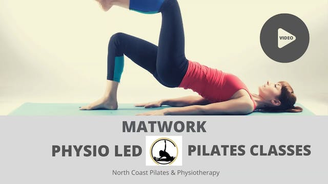 ✅ Physio Led Pilates Class Week 1 (No Small equipment)