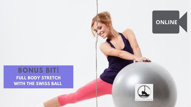 Full Body Stretch on the Swiss Ball