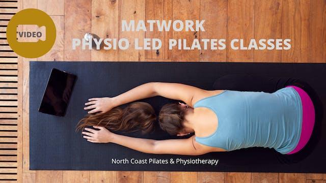 Physio Led Pilates Class Week 8