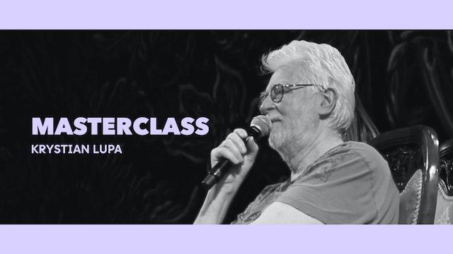 Entrevista abierta - Krystian Lupa