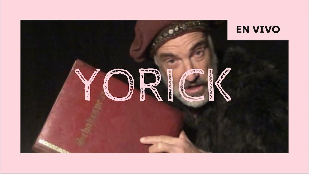 Yorick, la historia de Hamlet - 25/09 - 20h CLT