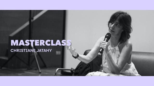 Clase magistral - Christiane Jatahy
