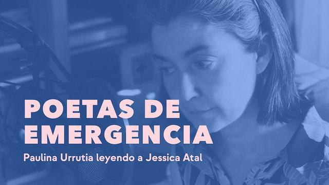 Paulina Urrutia leyendo a Jessica Atal