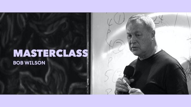 Clase magistral - Bob Wilson