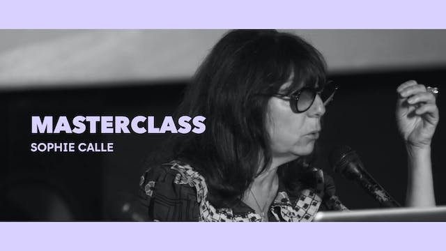 Clase magistral - Sophie Calle