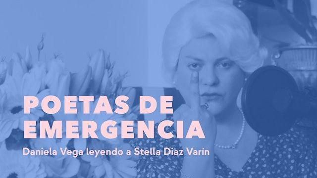Daniela Vega leyendo a Stella Diaz Varín