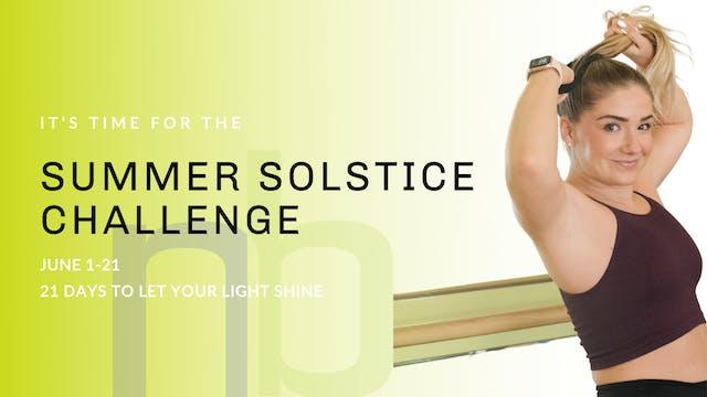 21 Day Summer Challenge!