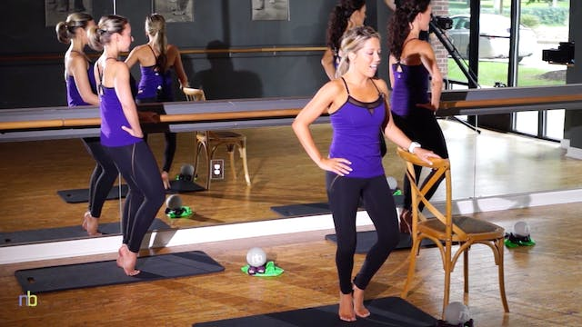 NEW! 55 Minute Full-Body Barre