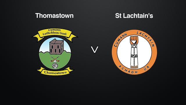 KILKENNY IHC SF Thomastown v St Lachtain's