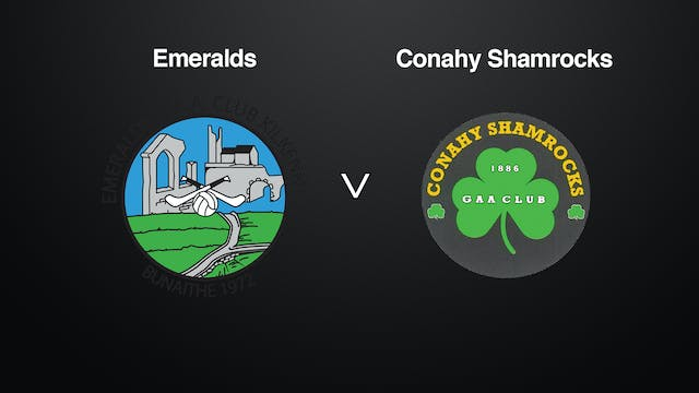 KILKENNY JHC SF Emeralds v Conahy Shamrocks