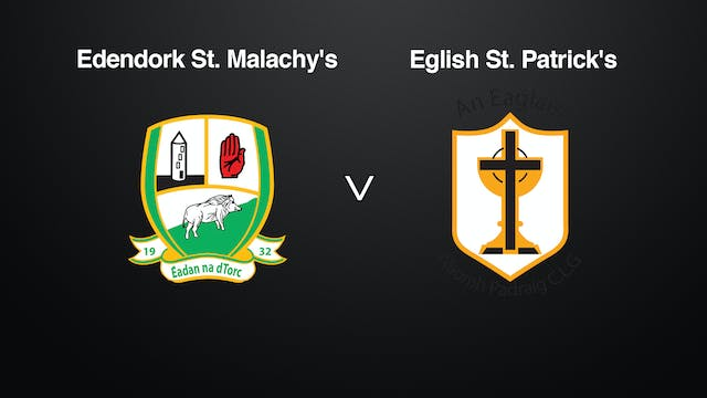 TYRONE Int. Div. 2 League Final, Eden...