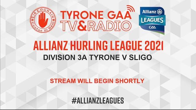 ALLIANZ HURLING LEAGUE DIV 3A Tyrone ...