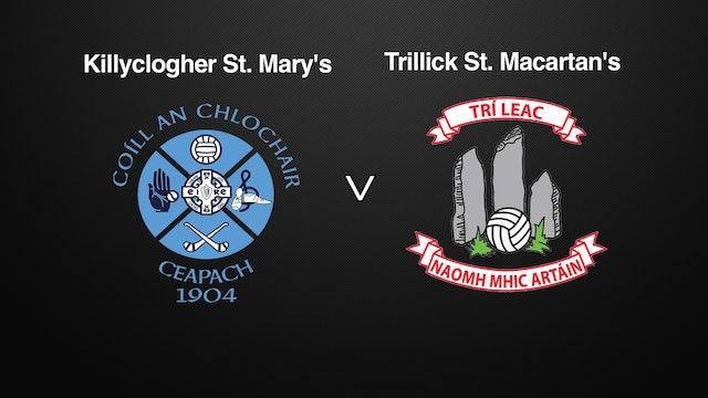 TYRONE SFC QF Killyclogher St. Mary's v Trillick St. Macartan's