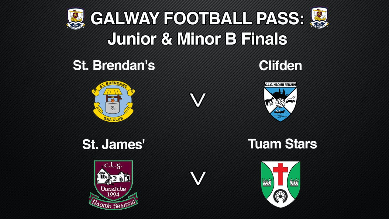 GALWAY Football Pass: Junior & Minor B Finals