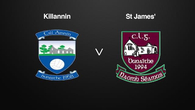 GALWAY SFC, Killannin v St James'