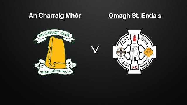 TYRONE Minor Final, Carrickmore v Omagh