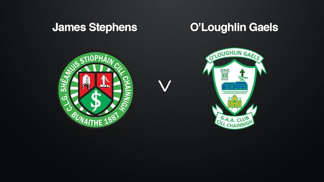 KILKENNY SHL James Stephens v O'Lough...