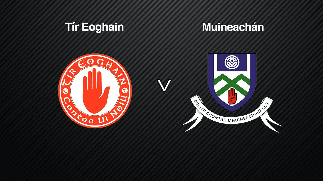 ALLIANZ HURLING LEAGUE DIV 3A Tyrone v Monaghan