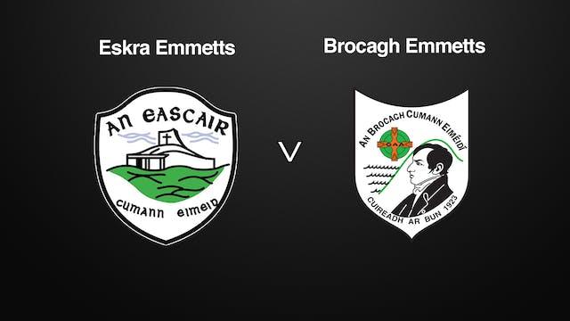TYRONE JFC, Eskra Emmetts v Brocagh Emmetts