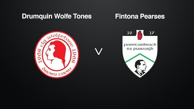 TYRONE JFC Drumquin v Fintona