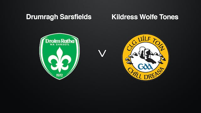 TYRONE JFC Final Drumragh Sarsfields v Kildress Wolfe Tones