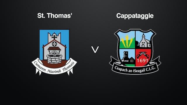 GALWAY SHC Semi-Final, St. Thomas' v  Cappataggle