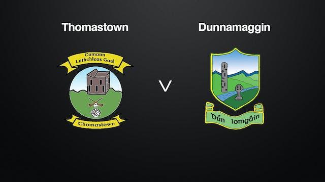 KILKENNY IHL Final Thomastown v Dunnamaggin