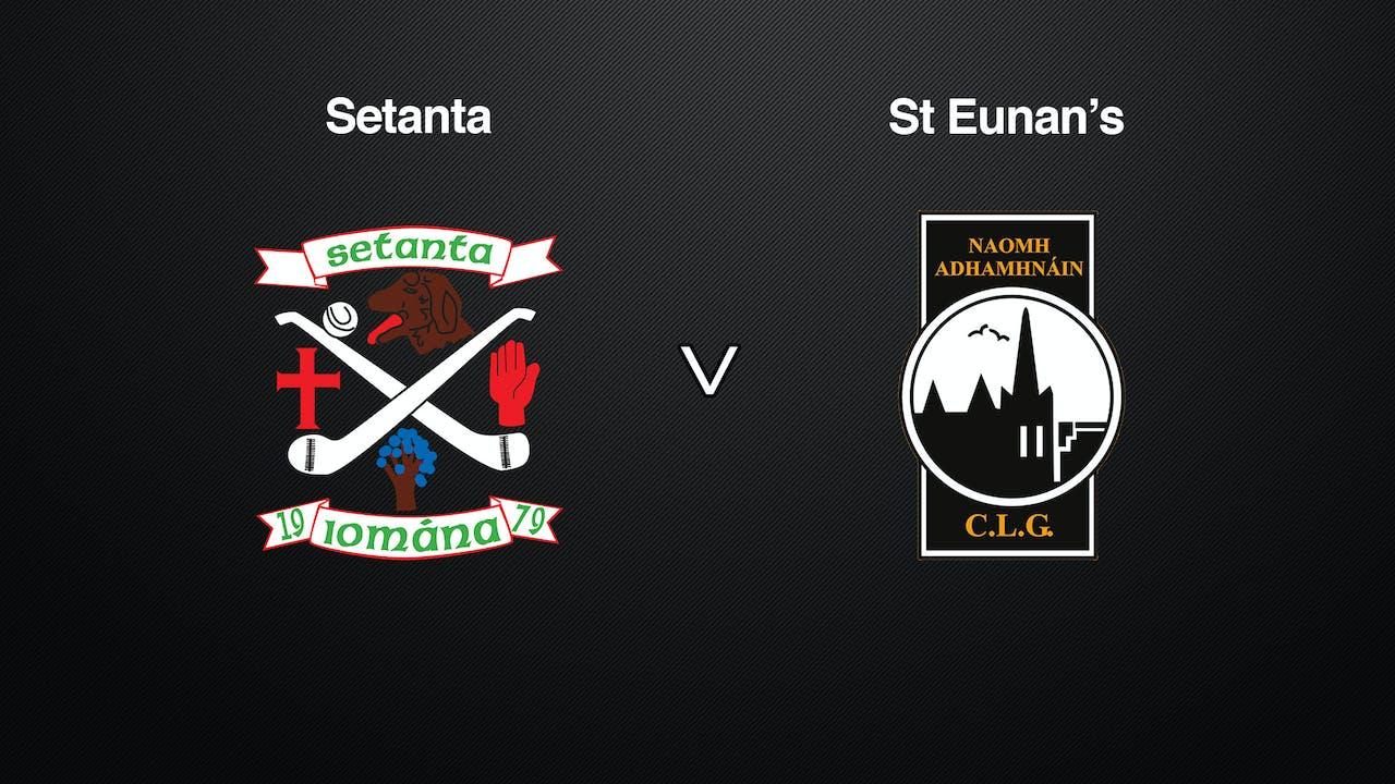 DONEGAL SHC Final, Setanta v. St. Eunan's