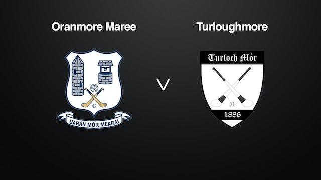 GALWAY SHC Oranmore Maree v Turloughmore