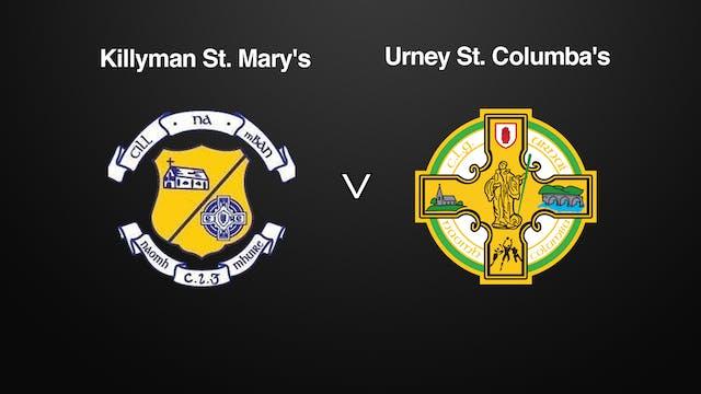 TYRONE JFC, Killyman St. Mary's v Urney St. Columba's
