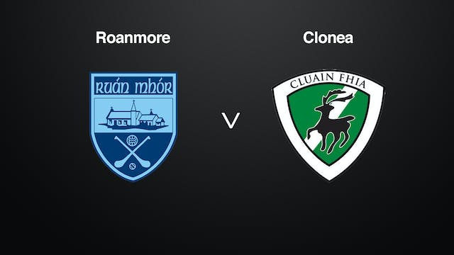 WATERFORD SHC Roanmore v Clonea