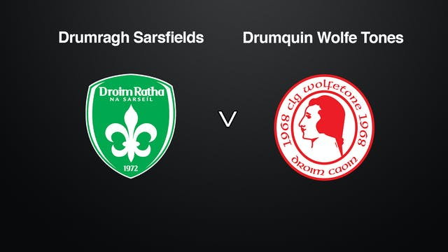 TYRONE JFC Semi-Final Drumragh Sarsfi...
