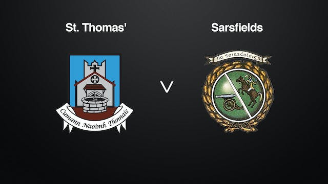GALWAY Brooks SHC St Thomas' v Sarsfields