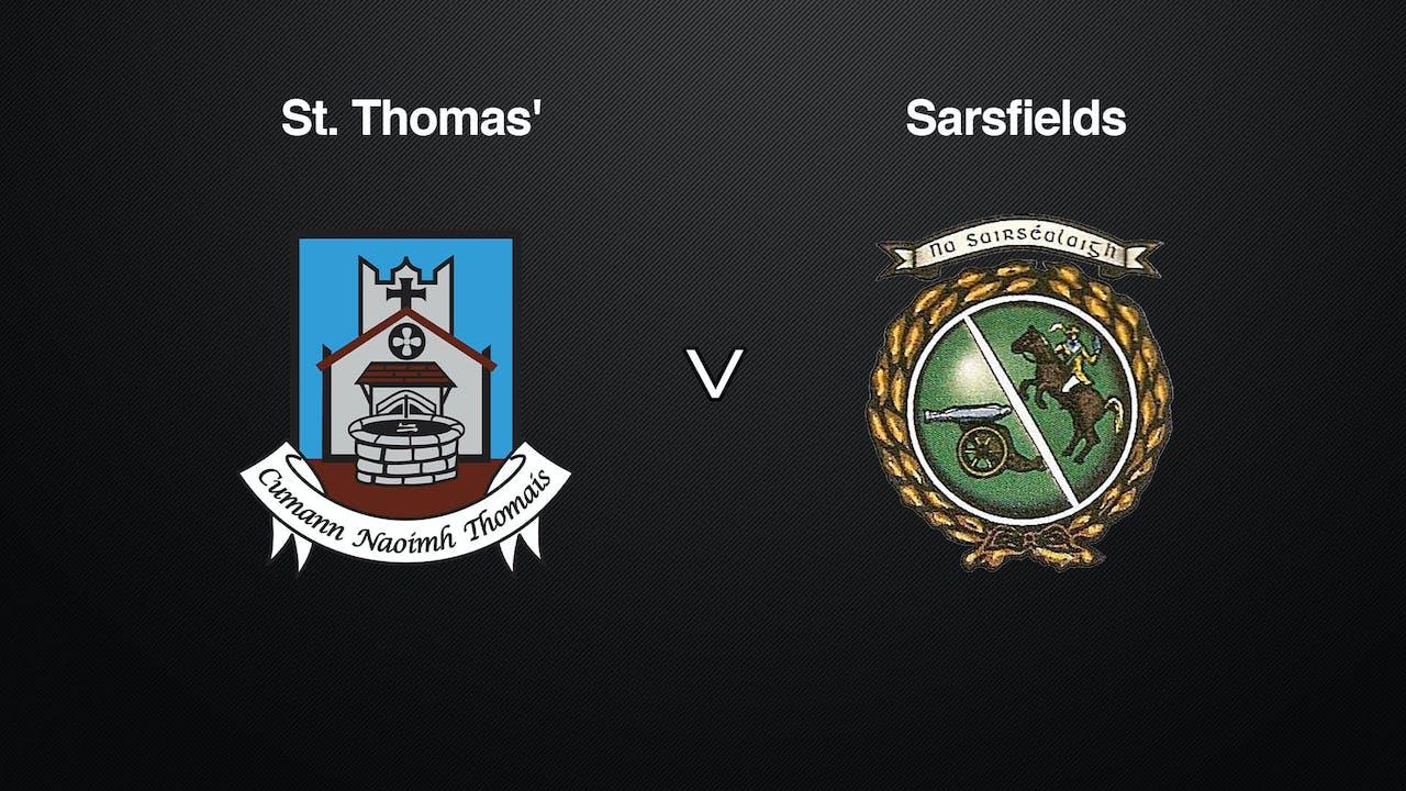GALWAY Brooks SHC St Thomas' v Sarsfields