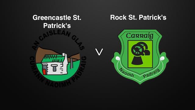 TYRONE IFC QF Greencastle St. Patrick's v Rock St. Patrick's