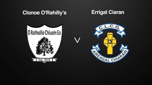 TYRONE SFC, Clonoe O'Rahilly's v Errigal Ciaran