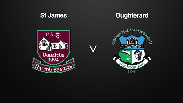 GALWAY SFC St James v Oughterard