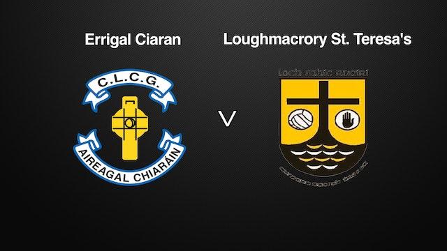 TYRONE SFC QF Errigal Ciaran v Loughmacrory St. Teresa's
