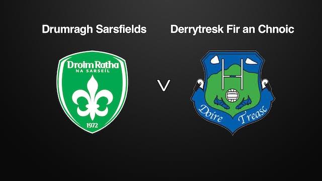 TYRONE JFC, Drumragh Sarsfields v Derrytresk