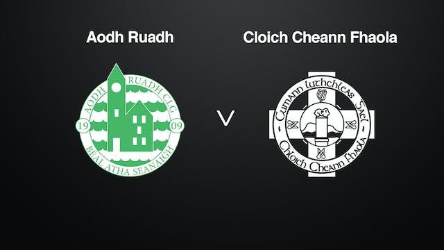 DONEGAL IFC Aodh Ruadh v Cloich Cheann Fhaola