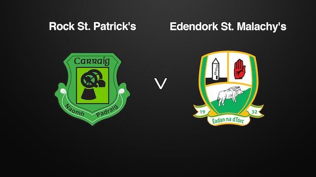 TYRONE Rock St. Patrick's v Edendork ...