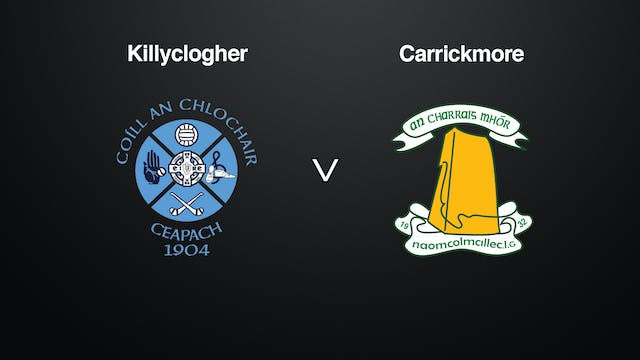 TYRONE SFC Killyclogher v Carrickmore